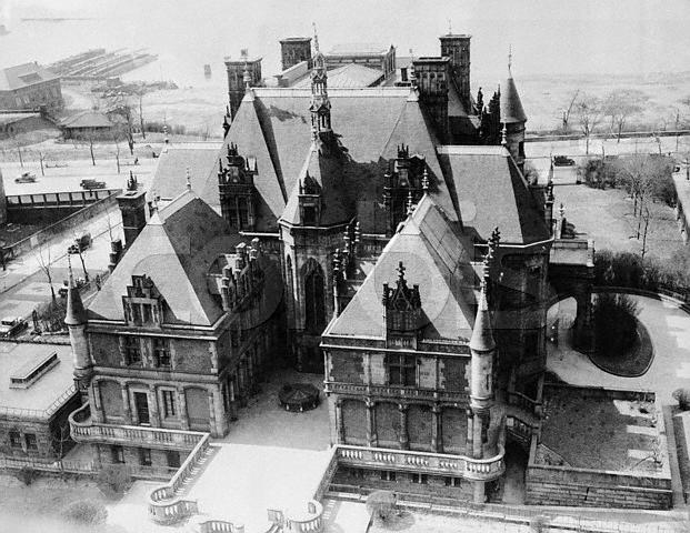 Aerial View of Charles M. Schwab Mansion