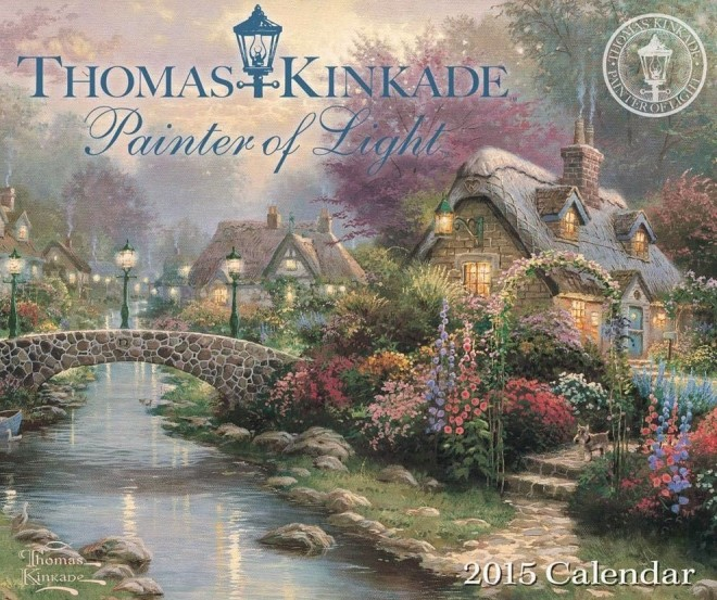 Thomas Kinkade Painter of Light 2015 Day-to-Day Boxed Calendar