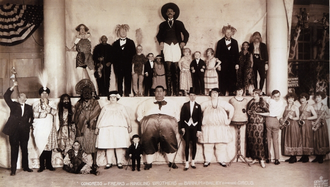 Congress of Freaks 1924
