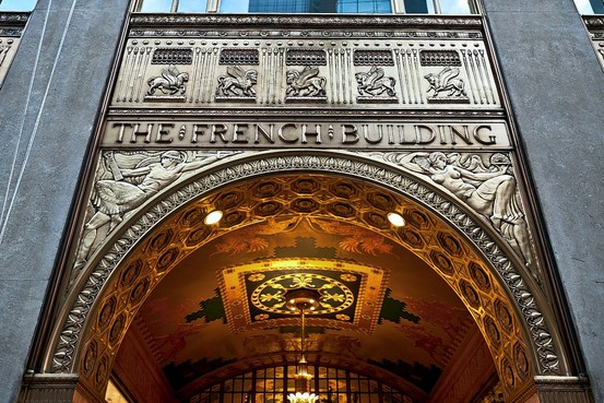 Fred_French_building_entrance