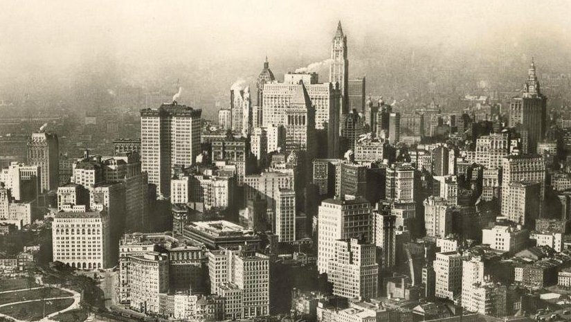 200 Years of New York Skyline Unveiled in the Skyscraper ... |Museum New York Skyline 1920