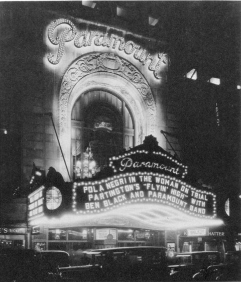 Copy of New York's Paramount Theater - 1930s