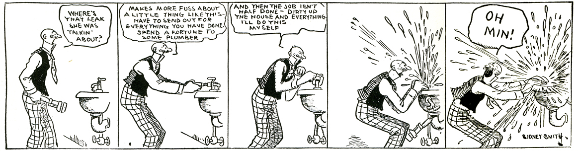 1920s comic strips – A New Yorker State of Mind