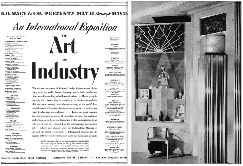 international exposition of art in industry a new yorker state of mind