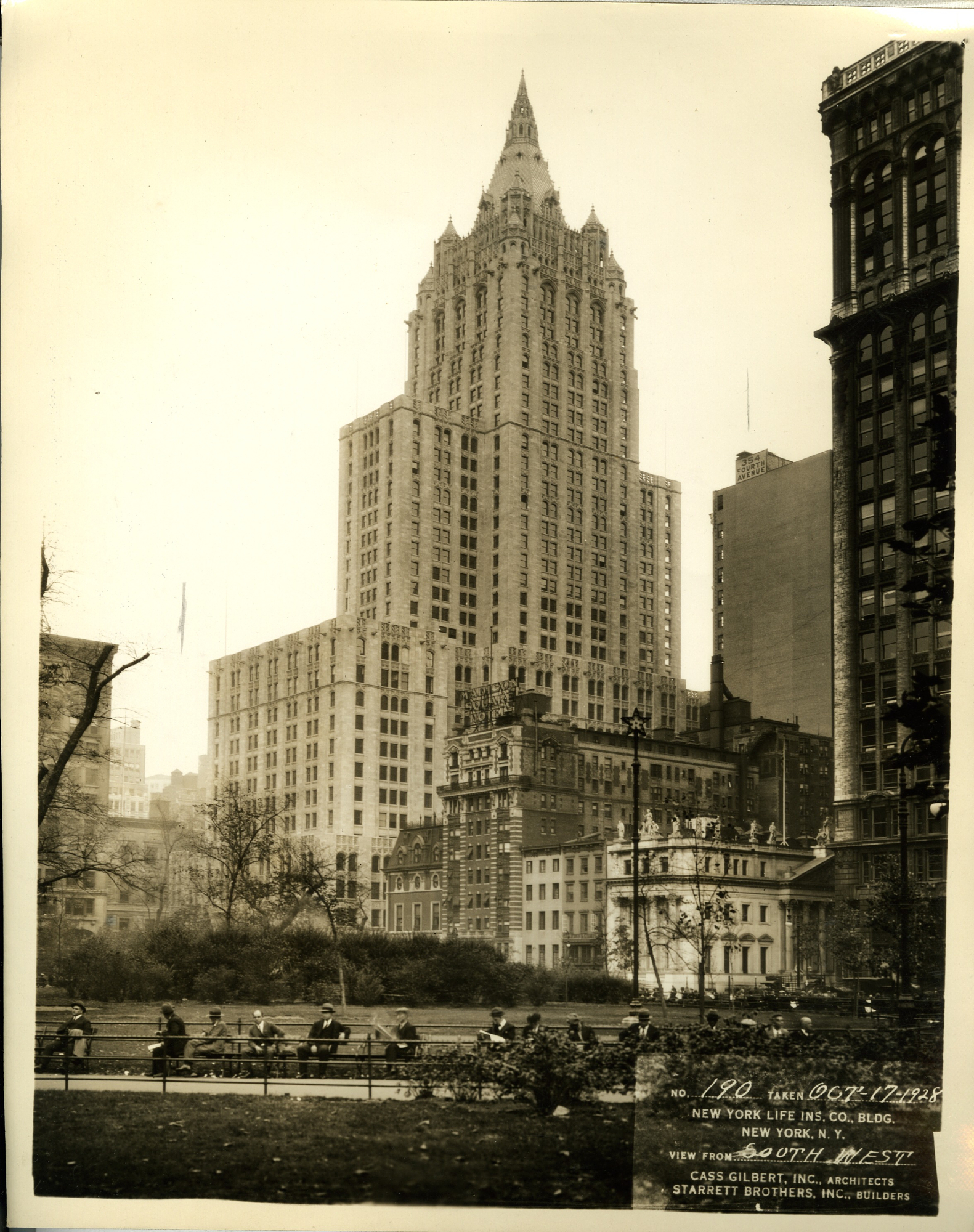 New York Life Insurance Building – A New Yorker State of Mind