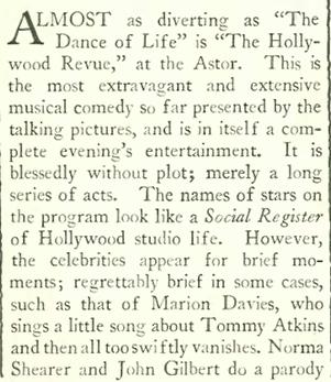 Ziegfeld Follies – A New Yorker State of Mind