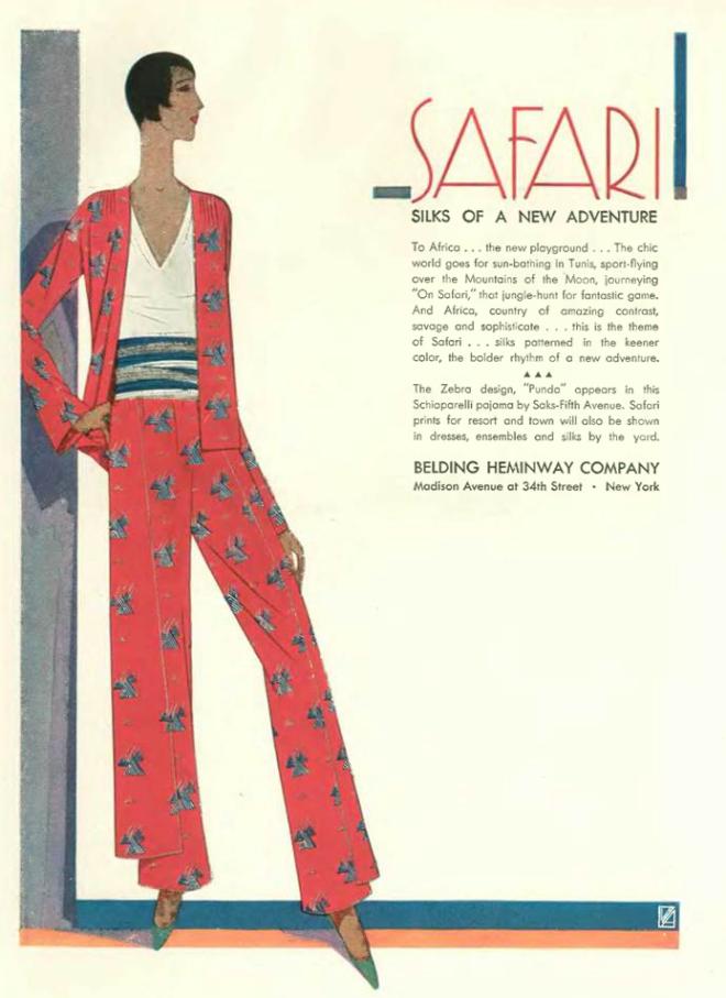 b2546117f0 …bright silks available at the Belding Hemingway Company…